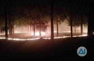 espectacular incendio